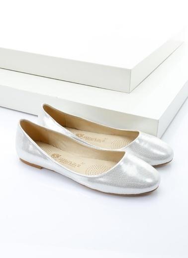 Italian Shoes Babet Gümüş